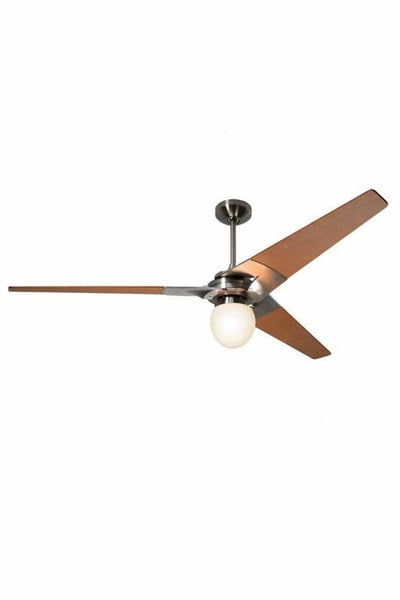 Torsion Ceiling Fan Bright Nickel with Light 62 Large Glass by The Modern Fan Company bef7117f-33e4-4caf-b50f-b80c21cb1631