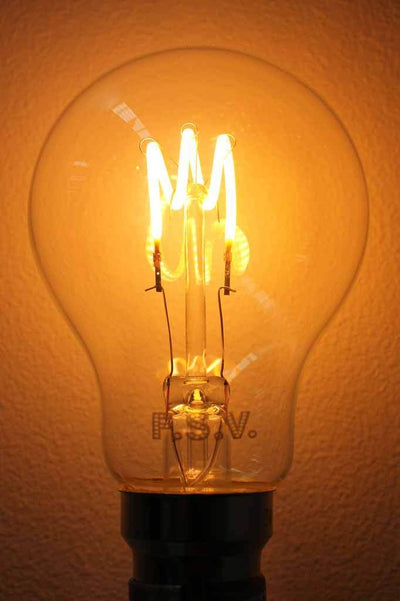 Tri loop light bulb. unique filament design bulb. buy led light bulbs online