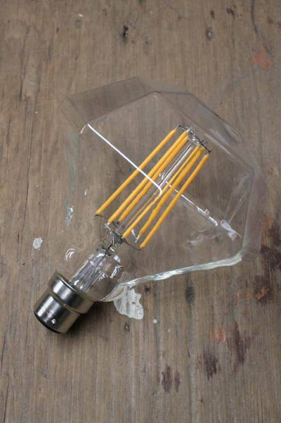 Unique diamond light bulb. add instant glamour to your light. Australian light bulbs online