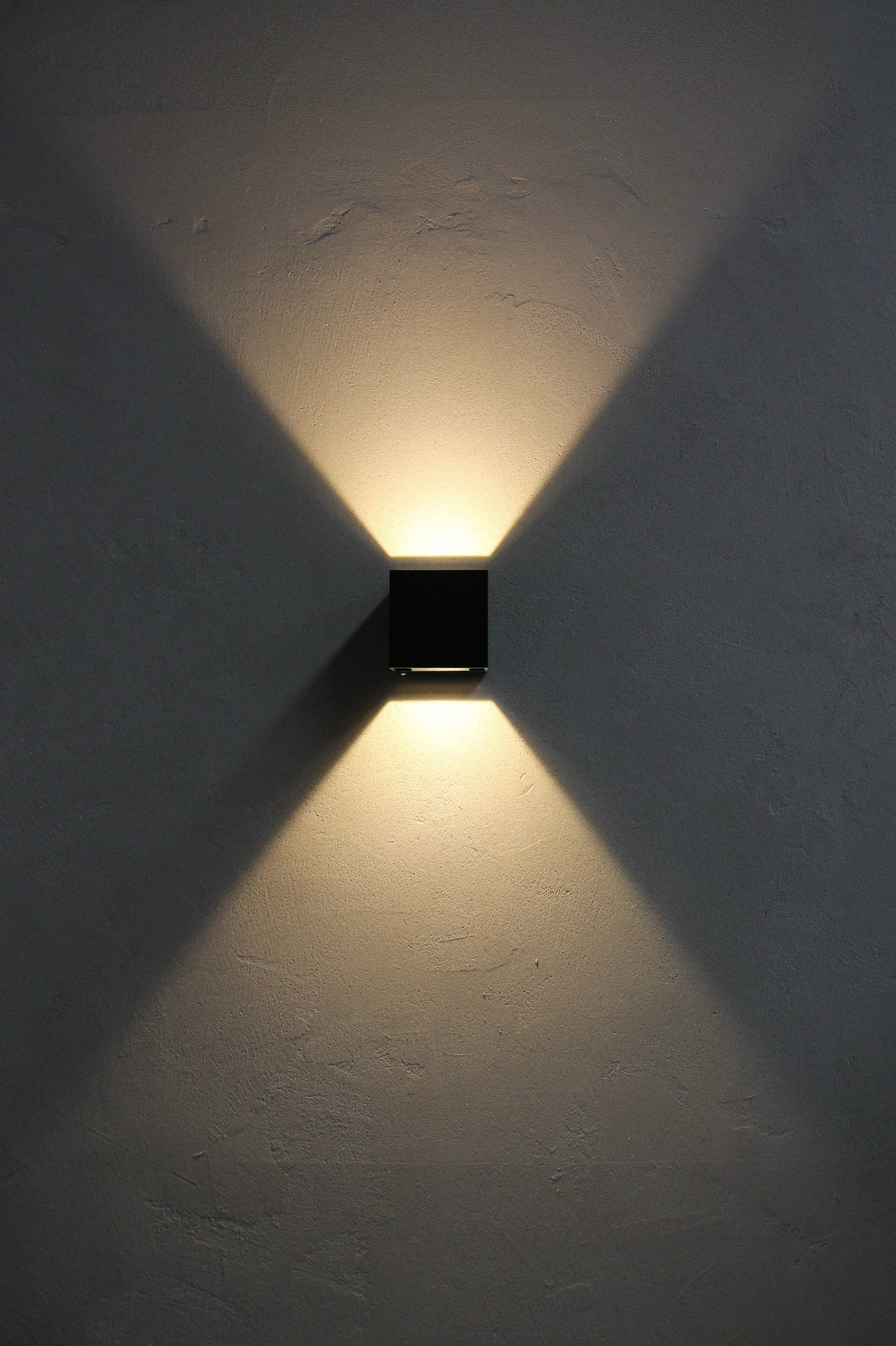 Up down outdoor wall light. adjustable lighting beams. outdoor wall lights online