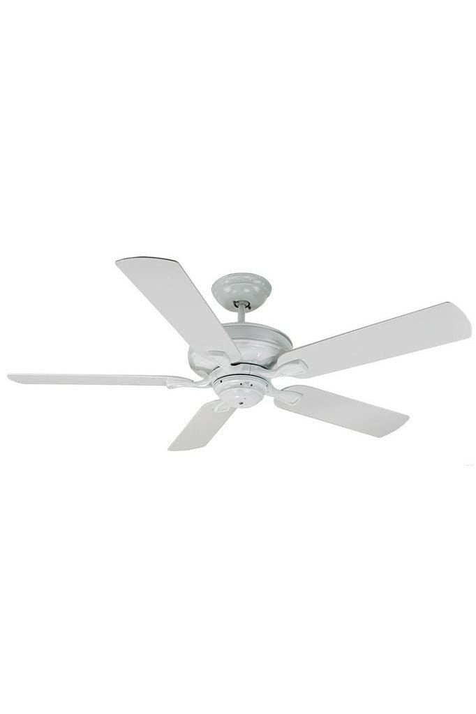 Verandah outdoor ceiling fan in matt white