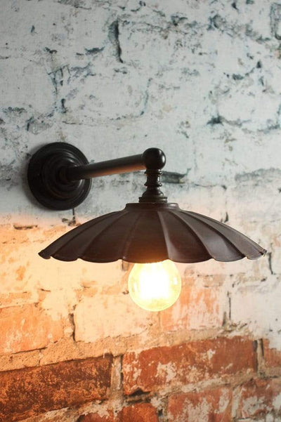 Vintage Umbrella Wall Light