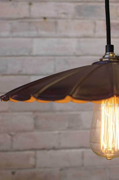Vintage umbrella pendant light 11
