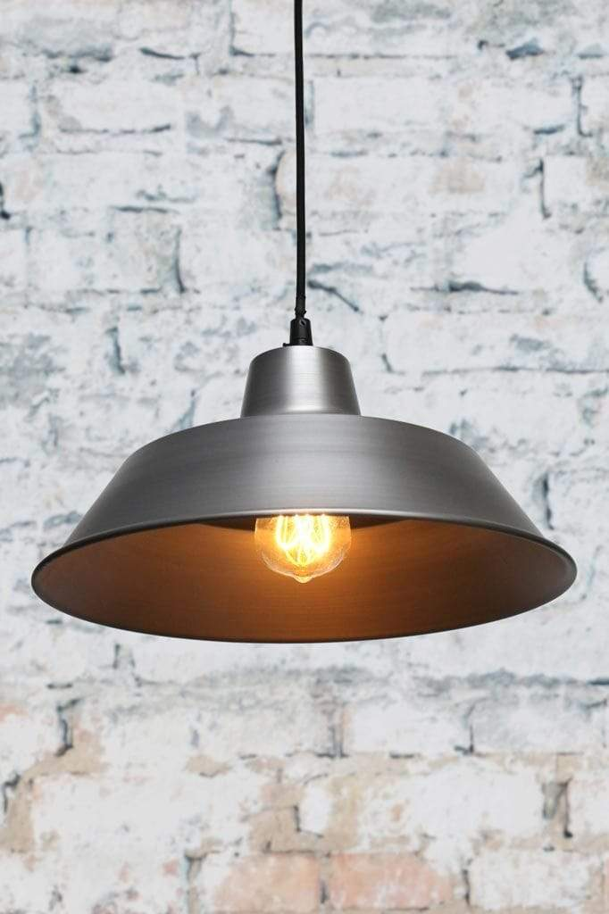 Vintage steel factory pendant light for the home