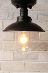 Vintage flush mount an outdoor and indoor light