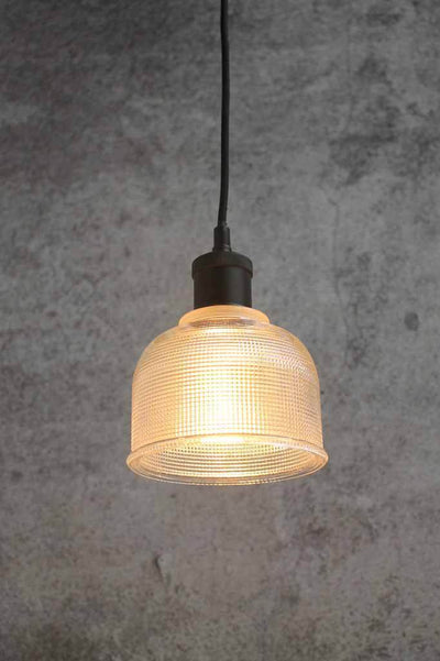 Vintage glass hanging pendant. vintage commercial lighting. pendant light for reading nook
