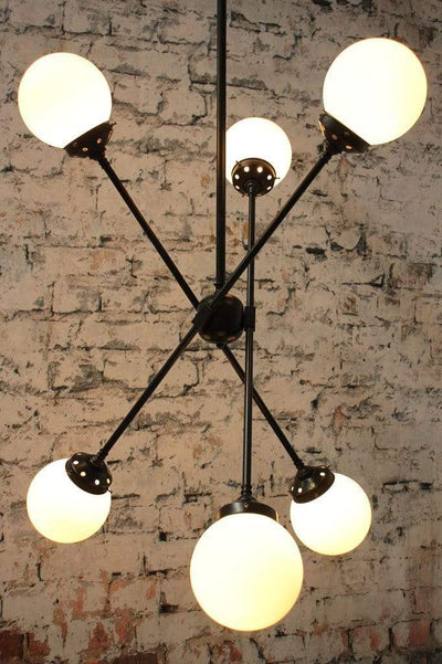 Vintage style opal glass lighting. hallway lighting for homes.