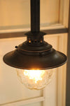 Vintage style pendant light. residential and commercial use. rod pendants online