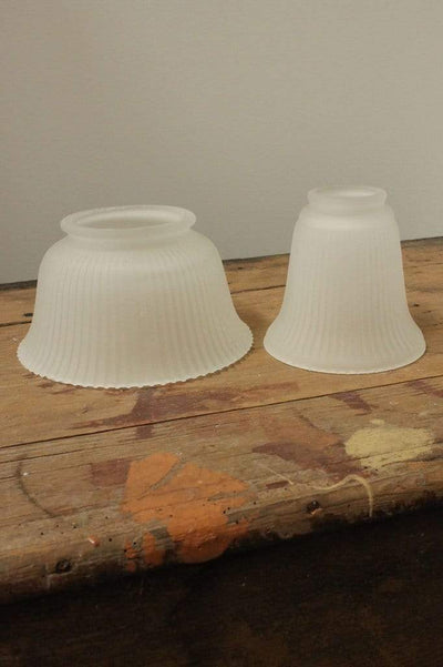 Vintage style shades. light shade glass. opal or clear glass