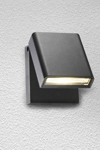 W192 wall light black outdoor exterior restaurant cafe house home design kerb appeal interior lighting