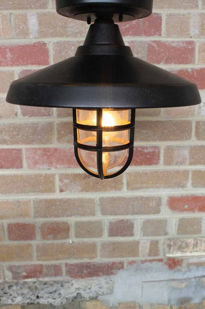 Wharf outdoor flush mount lightn ideal outdoor under eave light for porche or entryway or under eave