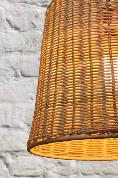 Wicker basket hanging light. Australian beach house. boho style online