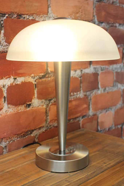 Art deco style table lamp ideal for bedside lighting or desk lamp
