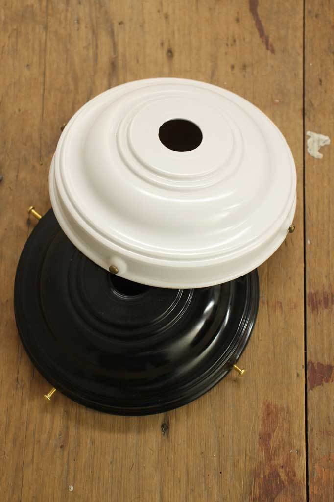 B w top down lamp galley bakelite Australian manufactured