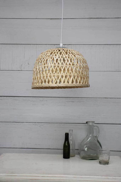Bamboo pendant light shades online