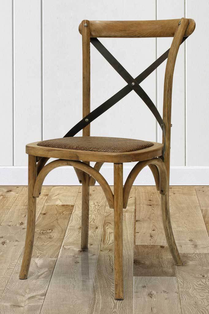Bentwood style wooden cafe chair vintage wicker online Australia