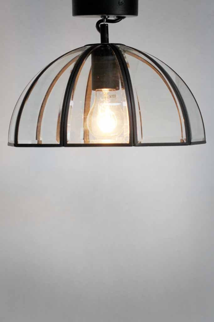 alabama dome glass ceiling light