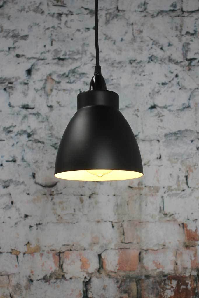 Black steel lampshades