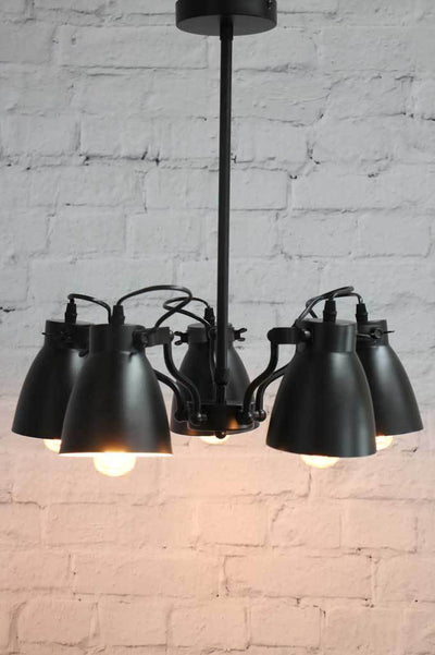 Black steel pendant lights shop online Melbourne