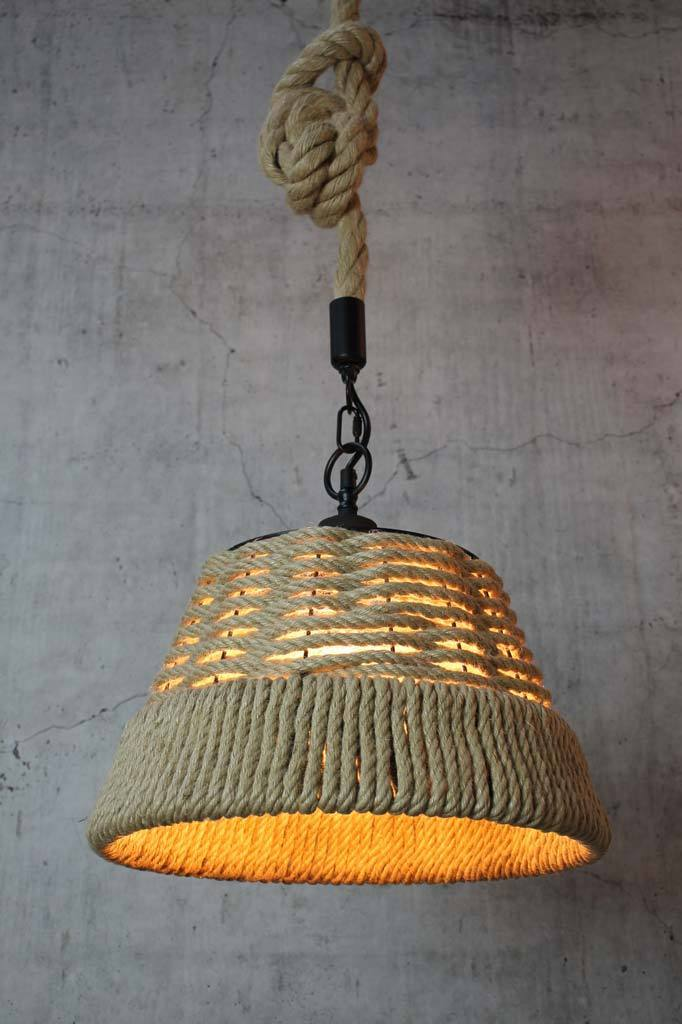 Cove Rope Pendant Light