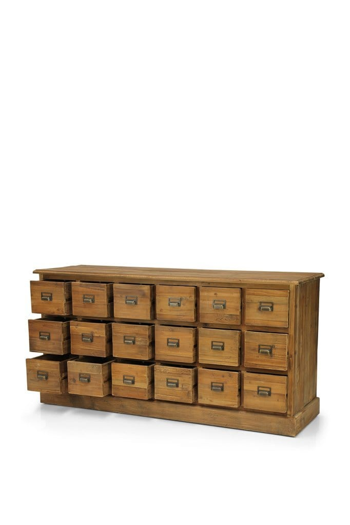 Apothecary wooden chest of drawers online furniture Melbourne