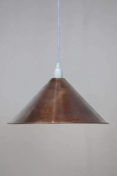 Copper pendant lights kitchen lighting Melbourne large on all white cord