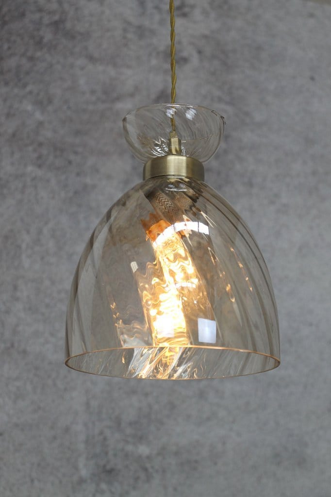 Glass pendant lights online Melbourne