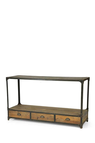 Brooklyn Industrial Console Table
