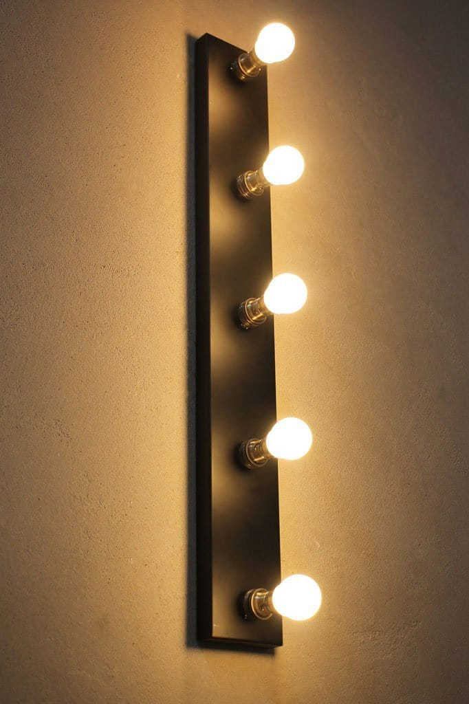 Vanity Hollywood make up mirror lighting wall lights Melbourne