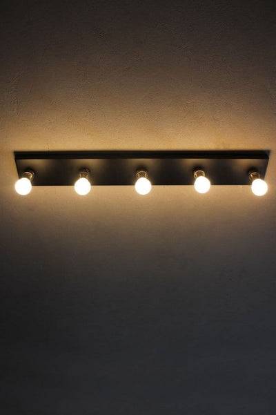 Bathroom ceiling lights in Hollywood style