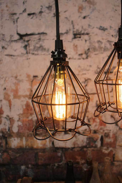 Industrial cage ceiling light online Melbourne