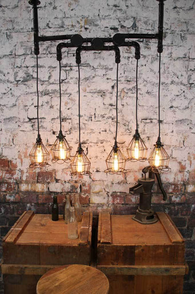 Industrial ceiling cage light online Melbourne