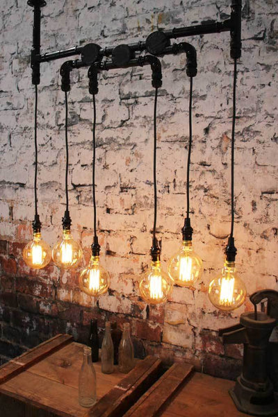 Industrial styled lights black ceiling light