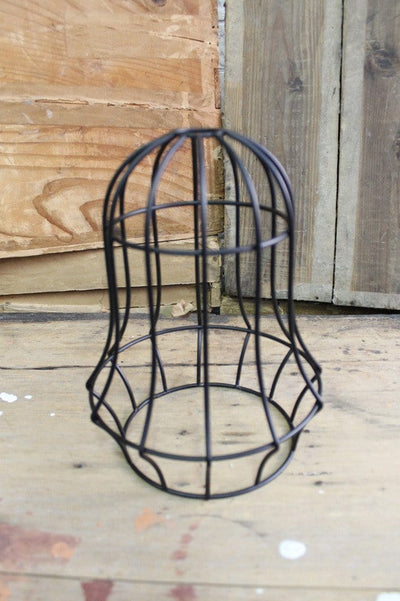 Industrial bell cage light