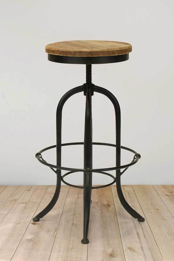 Kitchen bar stool swivel chair adjustable