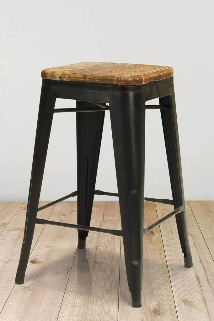 Kitchen bar stools black steel shop online