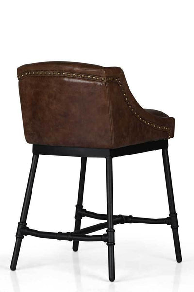 Kitchen counter stool leather bar chair online furniture