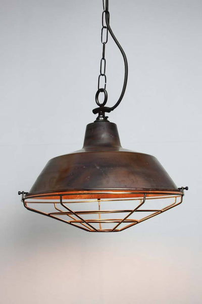 Kitchen pendant lighting copper light shades online Melbourne side entry chain antique cage