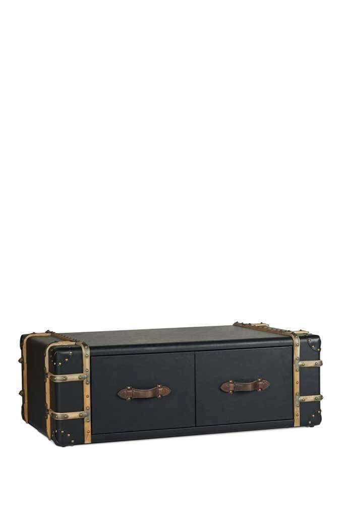 Union Steamer Trunk Coffee Table Coffee Table With Storage Fat Shack Vintage