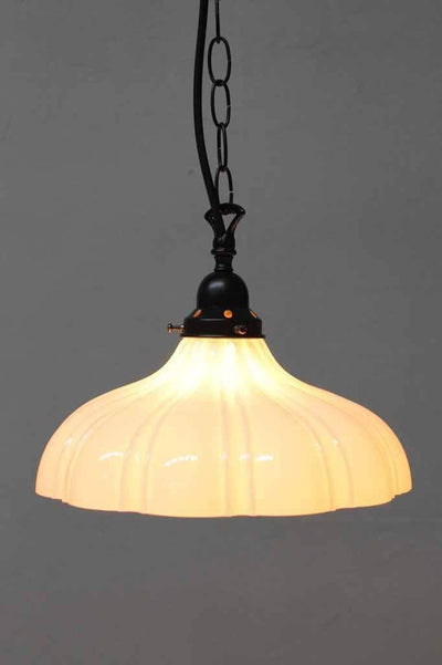 Large glass pendant light is a graceful addition to any modern classic interior. online lighting Melbourne Australia