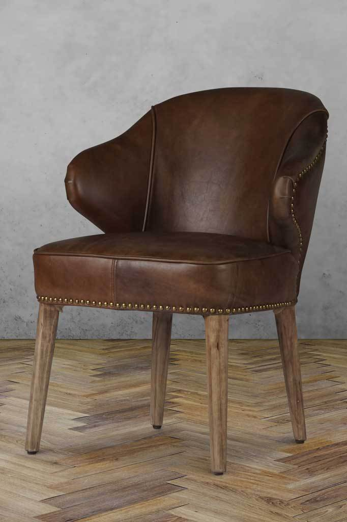 Leather chair for dining room online Australia furniture