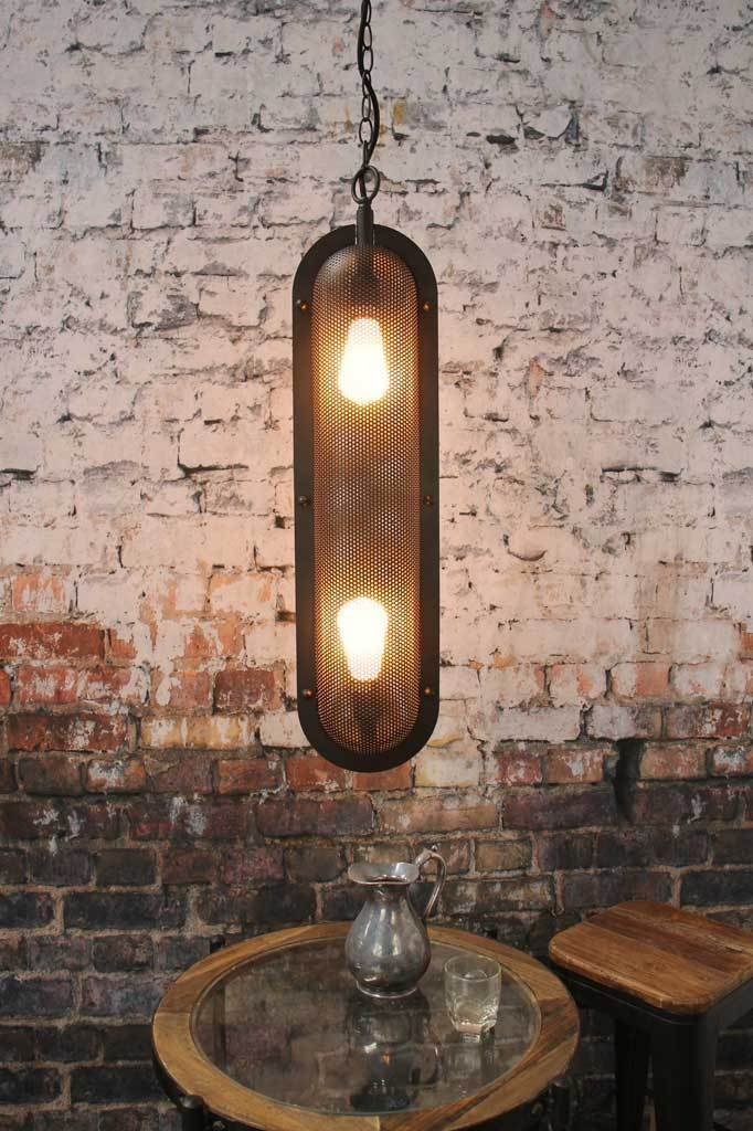 Lighting Melbourne black pendant ligth