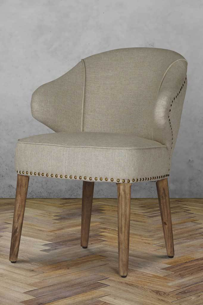 Baton Deconstructed Fabric Dining Chair