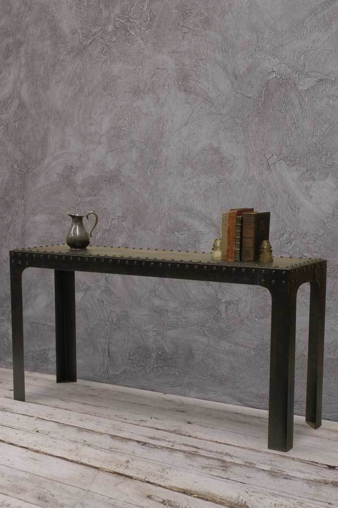 Harbour Industrial Console Wall Table