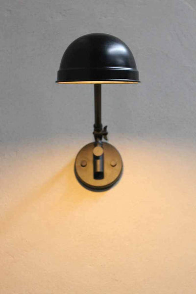 modern industrial wall lamp is a stylish and practical lighting solution for any room