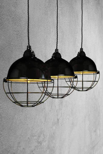 Mulit lights over a kitchen table or dining table for statment lighting
