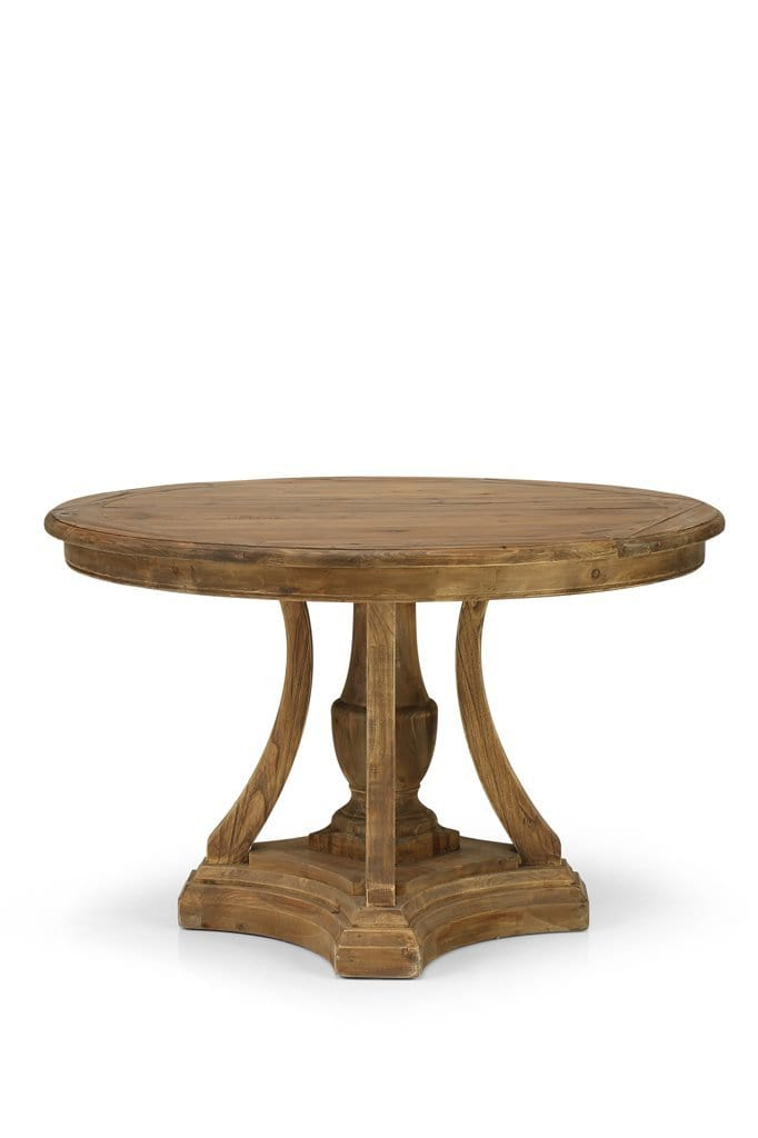 Round wooden dining room table online Melbourne