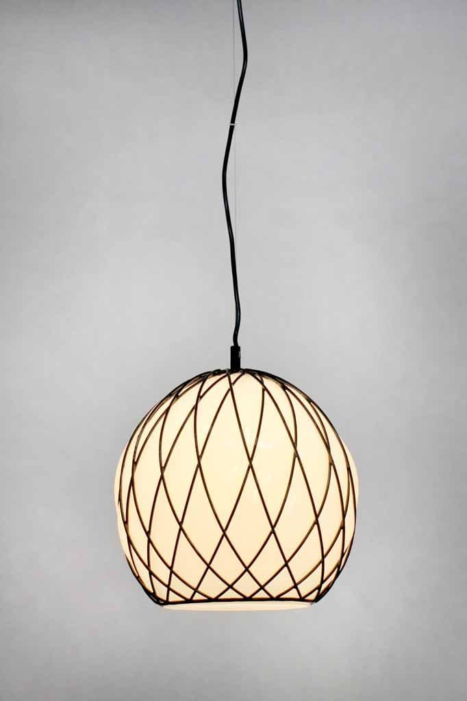 opal-glass-pendant-light-with-steel-woven-detailing