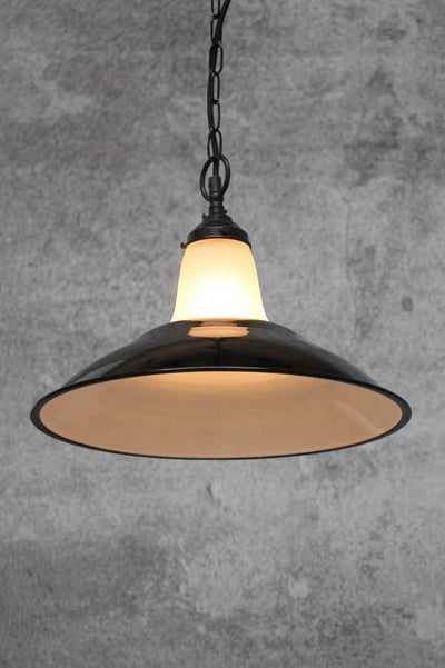 Porcelain enamel steel pendant light designer lighting online