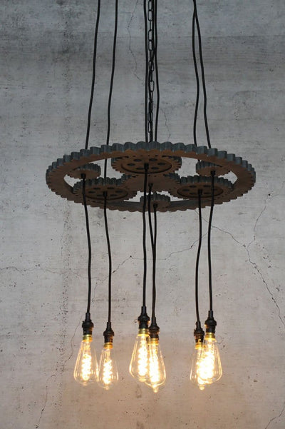 Large unique pendant lighting for bar or cafe